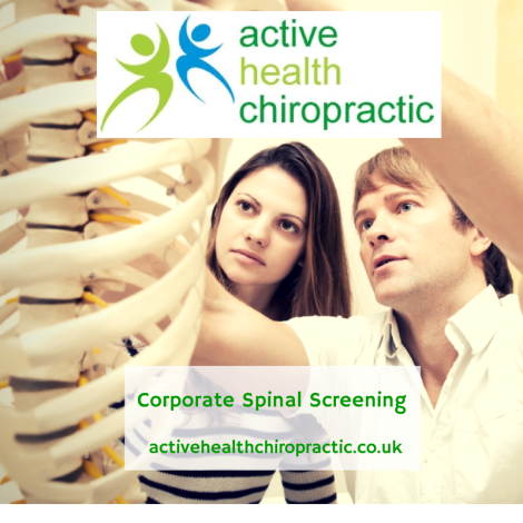Active Health Chiropractic Corporate Spinal Screening